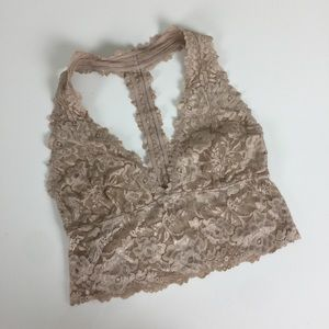 Intimately Free People | Nude Lace Bralette